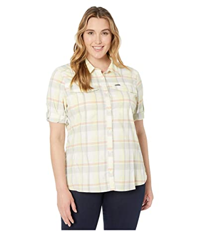 Columbia Plus Size Silver Ridge Lite Plaid Long Sleeve (Buttercup Medium Multi Plaid) Women