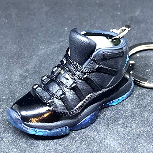 3e170b3bdb99 Air Jordan XI 11 Retro Hi Gamma Blue Sneakers Shoes 3D Keychain Figure