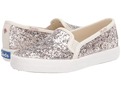 Keds x kate spade new york Kids Double Decker (Toddler) (Multi Metallic Glitter) Girl