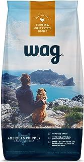 Amazon Brand - Wag Dry Dog Food, No Added Grains (Beef, Chicken, Salmon & Sweet Potatoes)