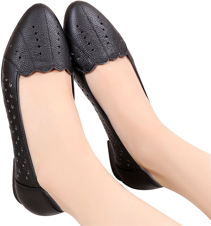 Jidngc Summer shoes Woman Genuine Leather Flat Sandals Ladies Casual Breathable Sandals Women Sandals Big Size 35-43