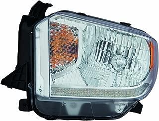 Fits Toyota Tundra 14-16 Headlight Assembly Halogen Platinum Edition LED Daytime Running Lights Driver Side