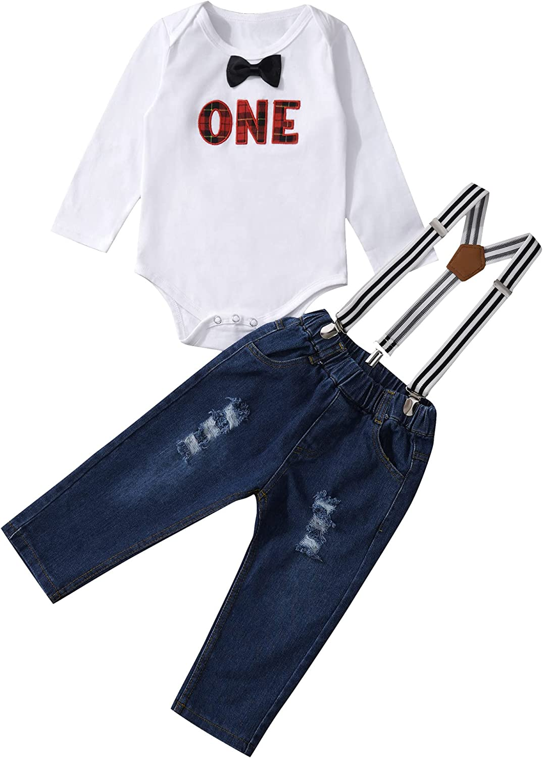 Today's only QinCiao Baby Toddler Boys First Sleeve Birthday Outfits Max 72% OFF Ba Short