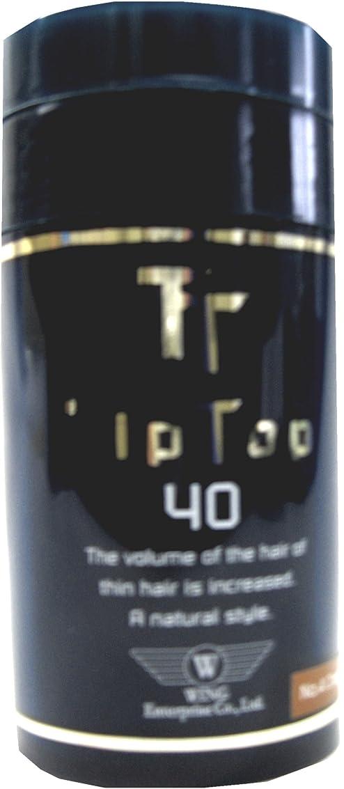 一族コンチネンタルたまにウイングエンタープライズ ティップトップ 40 No.2 ダークブラウン 40g