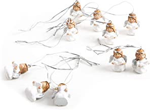 Engel Aufhänger Holz Rosa Silber Weihnachtsschmuck Christbaumschmuck Shabby Chic