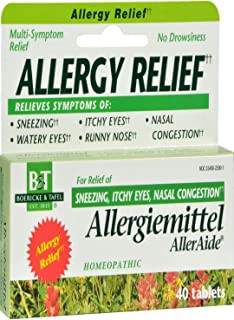 Boericke & Tafel Allergiemittel AllerAide - 40 Tablets