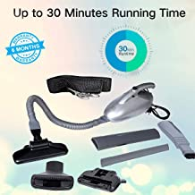 Ozoy Vacuum Cleaner for Home Blowing/Multi-Functional Portable Handheld Car Electric Vacuum/Blowing, Sucking, Dust Cleaning, Dry Cleaning Multipurpose Use Powerful Suction Low Noise Collector …