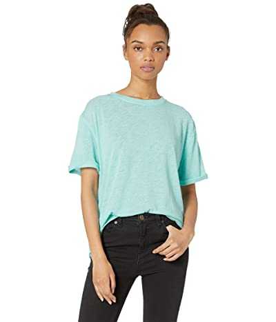 Free People Cassidy Tee (Ocean Blue) Women