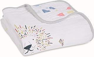 aden + anais Dream Blanket | Boutique Muslin Baby Blankets for Girls & Boys | Ideal Lightweight Newborn Nursery & Crib Blanket | Unisex Toddler & Infant Bedding, Shower & Registry Gift, Leader of Pack