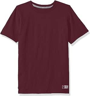 Big Boys' Cotton Performance Short Sleeve T-Shirt