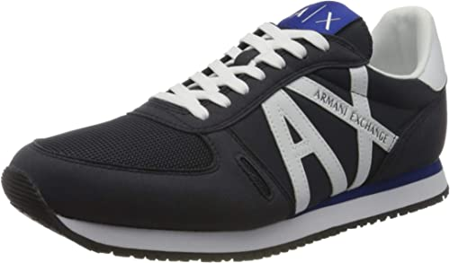 Armani exchange sneaker scarpe da ginnastica basse uomo XUX017XV028