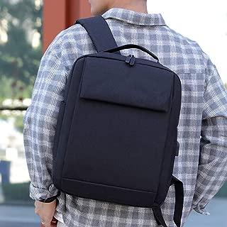 JpOTSUT Fashion Simple Computer Bag Backpack Business Travel Comfort Backpack Computer Bag Men and Women Laptop Bag The North face Backpack (Color : Gray)