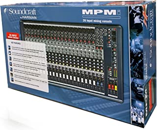 Soundcraft MPMi-20 20-channel Audio Mixer