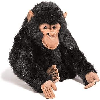 Carl Dick Chimpanzee Monkey with Baby Stuffed Animal 3160 Imberi . Plush Toy 28cm Soft Toy 11 inches