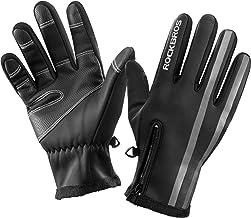 ROCKBROS Handschoenen Dames Heren Winter Touchscreen Fietshandschoenen Skihandschoenen Warm, Winddicht, Waterafstotend voo...