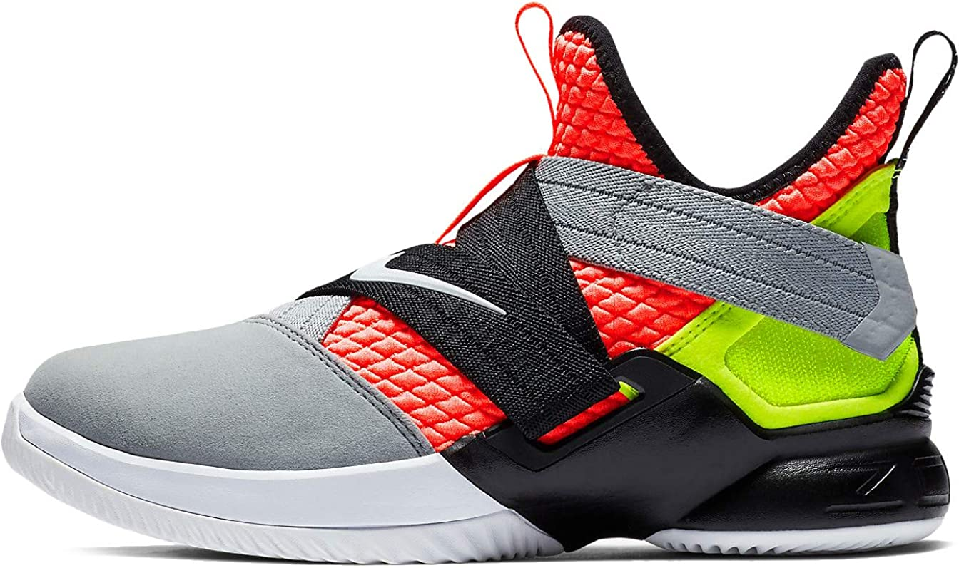 Nike Popular overseas Limited Special Price Kids' Grade School Lebron Soldier Shoes XII Basketball