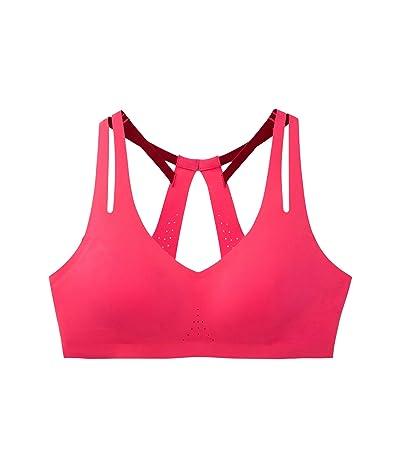 Brooks Dare Strappy Bra (Hot Pink) Women