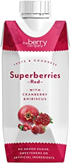 The Berry Company Superberries Red Juice Blend with Cranberry & Hibiscus, 330 ml
