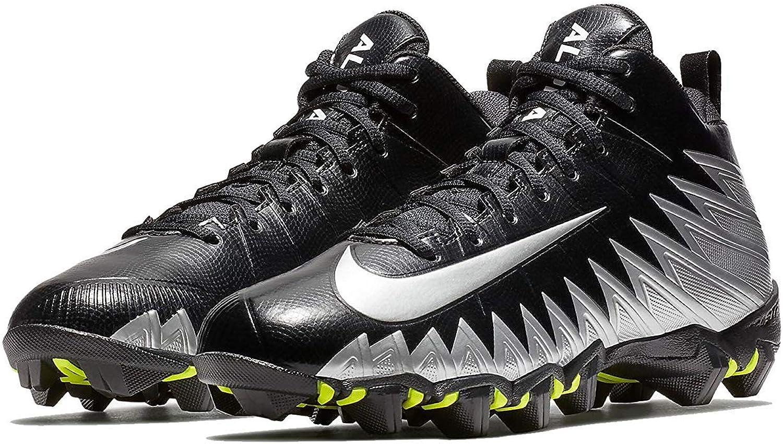 Nike Men's Alpha Menace Shark Football Cleat schwarz Metallic Silber Weiß Größe 9 M US B0761YNKF6  Verhandlung