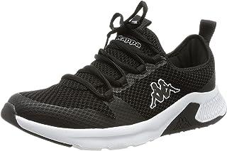Kappa Unisex Amidou Sneaker, Black/White, 10 UK