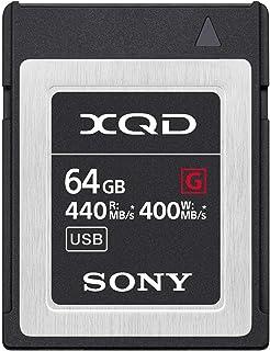 ソニー SONY XQDメモリーカード 64GB QD-G64F 書き込み速度400MB/s / 読み出し速度440MB/s