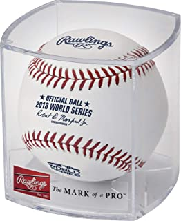 Rawlings 2018 World Series Official MLB Game Baseball Cubed