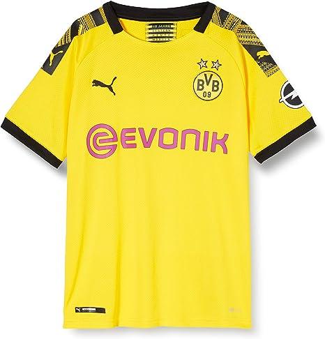 Puma Borussia Dortmund BVB Home Replica Jersey Evonik, Maglia Calcio Bambino