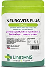Neurovits Plus (vitaminas B1 B6 B12 &Ácido Fólico ) 360 PASTILLAS
