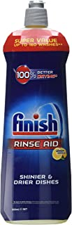 Finish Dishwasher Rinse Aid Liquid Lemon, 800 ml