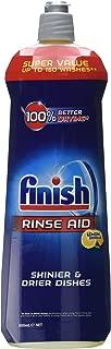 Finish Powerball Quantum Ontvetter Graisses 64 Tablets + Finish Dishwashing Liquid Rinse Aid Lemon Sparkle Shiner & Drier, 800ml