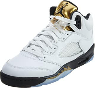 Nike Air Jordan 5 Retro BG LTD Olympic Gold Coin 2016 Basketball Sneaker