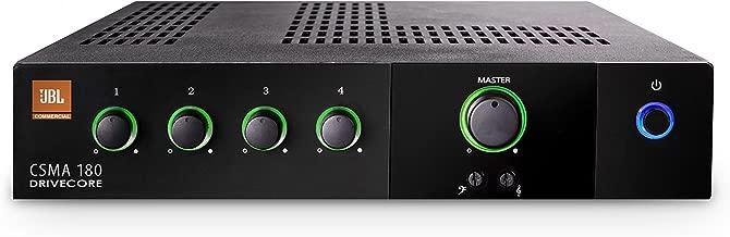 JBL CSMA180 Commercial Series 80-Watt Powered Audio Mixer/Amplifier