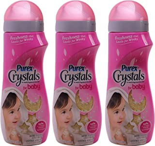Purex Crystals In-wash Fragrance Booster for Baby, 18 Ounce, (Pack of 3)