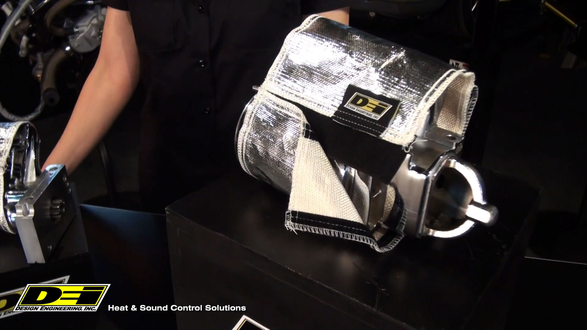 Heatshield Products HeatShield 204003 Black 7//16-Inch Id X 3-Feet Thermal Sleeving