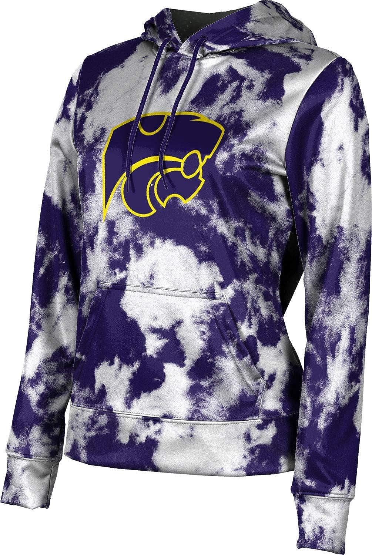 ProSphere Blue Springs High School Girls' Pullover Hoodie, School Spirit Sweatshirt (Grunge)