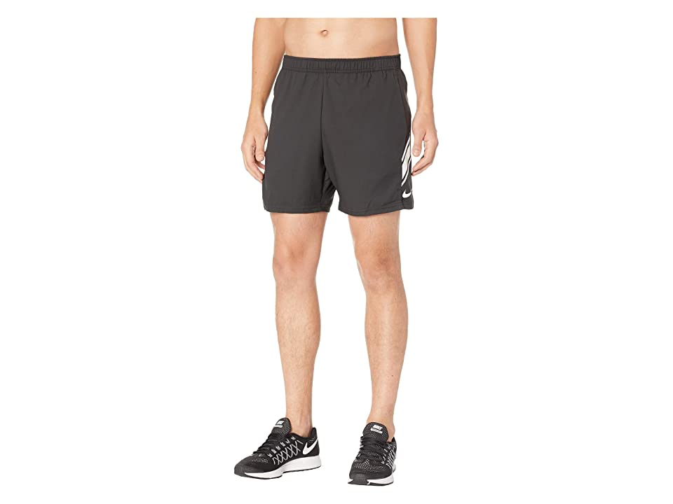 Nike NikeCourt Dry Shorts 7 (Black/White/White) Men