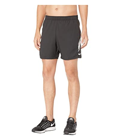 Nike NikeCourt Dry Shorts 7 (Black/White/White) Men