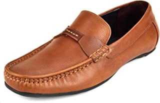 CHAMOIS Men's Leather Loafers