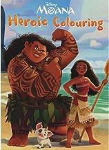 Disney Moana Heroic Colouring