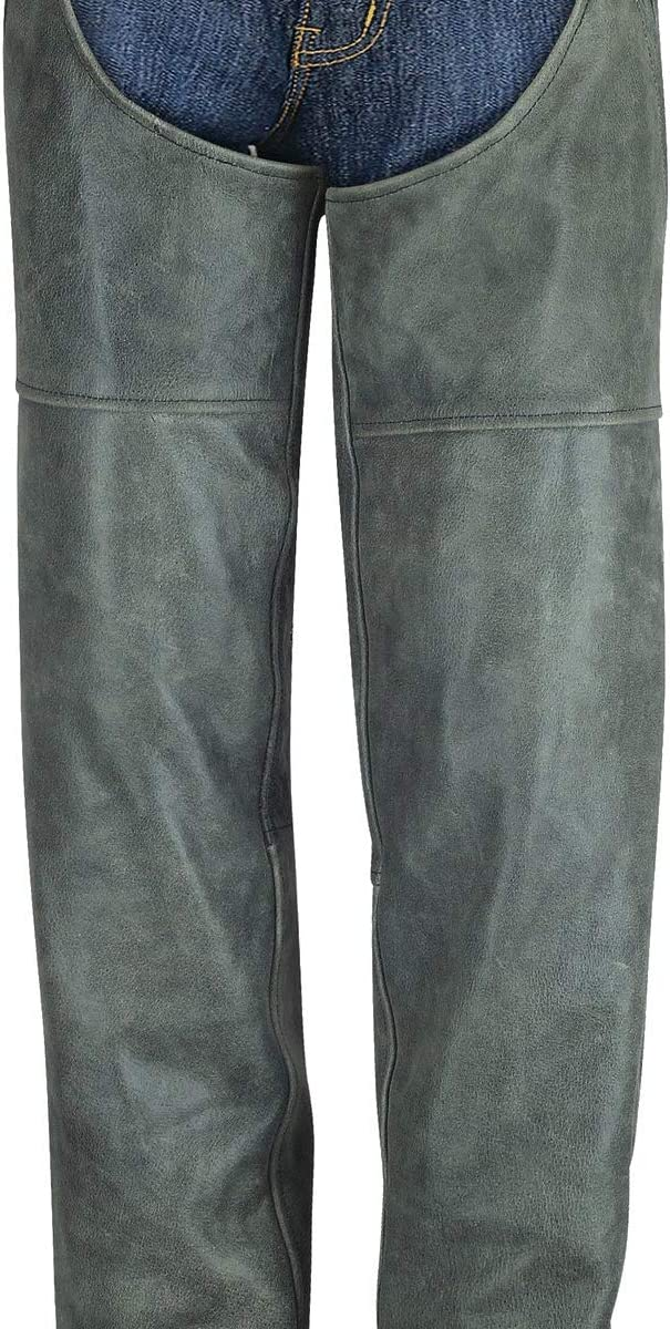 Ranking Ranking integrated 1st place TOP5 High Mileage Distressed Chaps Leather Gray