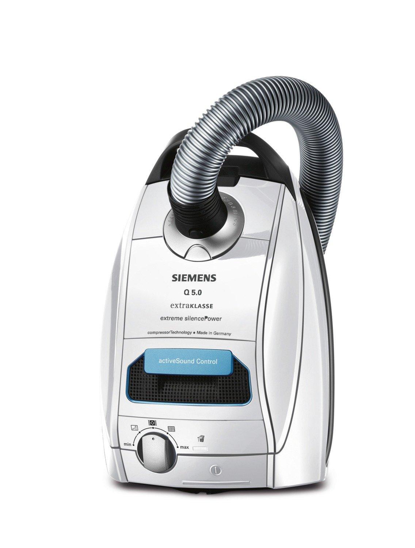 Siemens VSQ5X12M1 - Aspiradora (850 W, Aspiradora cilíndrica, Secar, Bolsa para el polvo, 4,5 L, HEPA): Amazon.es: Hogar