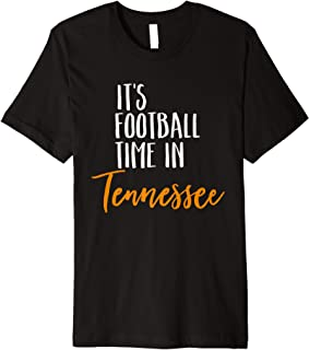 It's Time In Tennessee Cool Vintage Fan Football Shirt