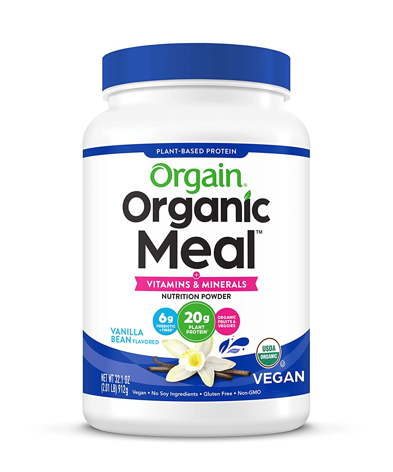Vegan Protein Meal Replacement Powder - Fort Worth Mall Certified by Orga Orgain Nashville-Davidson Mall