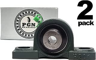 PGN - UCP201-8 Pillow Block Mounted Ball Bearing - 1/2