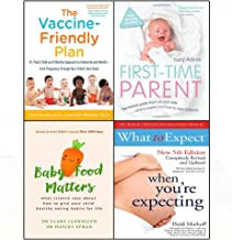 Vaccine-friendly plan,baby food matters,first-time parent,when you're expecting 4 books collection set