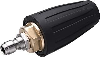 M MINGLE Pressure Washer Rotating Turbo Nozzle, Rotary, 1/4 Inch Quick Connect, Orifice 2.5, 3600 PSI