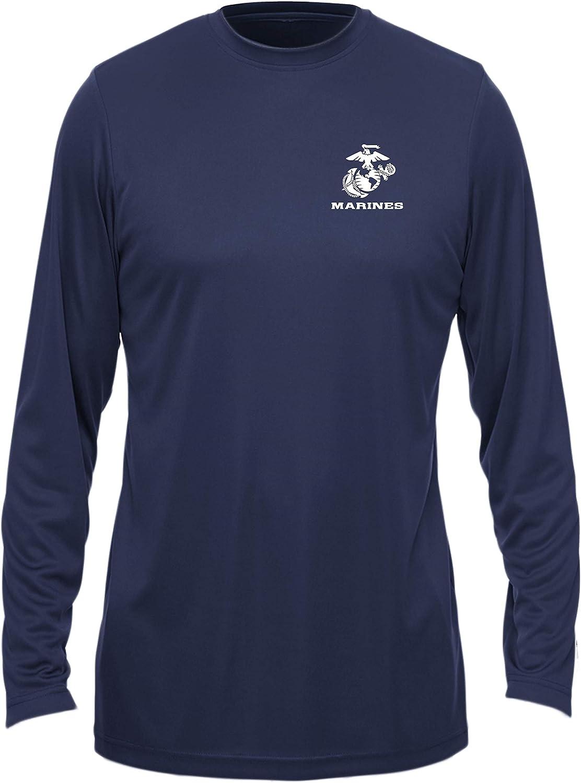Eagle Globe and Anchor USMC Long Sleeve T-Shirt