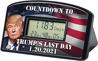 BigMouth Inc Countdown Clock & Timer - Trump's Last Day 1-20-21