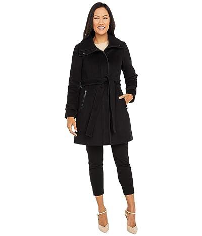 Vince Camuto Belted Wool Coat V20734-ZA (Black) Women