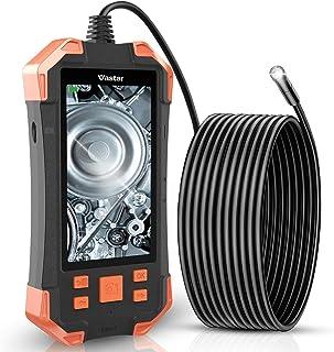 batteria da 3000 mAh telecamera di ispezione HD con 8 luci LED regolabili TTLIFE Endoscopio industriale 1080P a doppia lente cavo da 5 me scheda TF da 32 GB